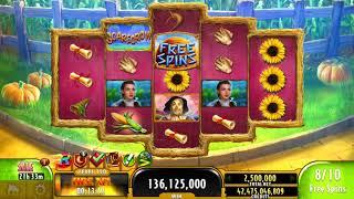 THE WIZARD OF OZ SCARECROW Video Slot Casino Game with an EPIC WIN FREE SPIN BONUS