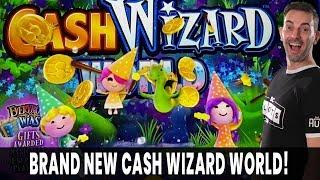 LIVE  BRAND NEW CASH WIZARD WORLD  Jackpot Wheel Bonus  EVERYBODY WINS!