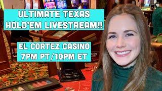 Ultimate Texas Hold'em Livestream! Bigger Buy-in!!