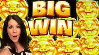 PIGS for DAYS! HUGE Bonus Win on FU PIG - AGS Slot Machine | Casino Countess