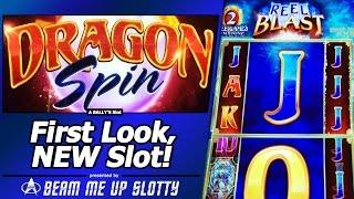 Dragon Spin Slot - Live Play, Progressive, and Reel Blast feature of New Bally's game