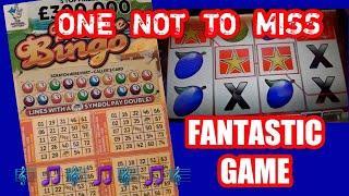Fantastic Video...Fantastic Game...Scratchcard George....One to Watch....mmmmmmMMM