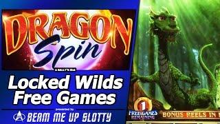 Dragon Spin Slot - Locked Wilds, First Look at New Bally's game
