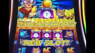 NEW SLOT: 2 BIG JACKPOT HANDPAYS ON DROP AND LOCK SWEET TWEET!