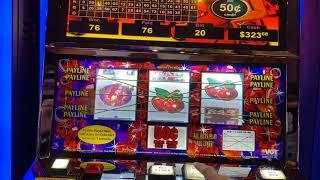 $10 BET HOT RUBY RED 2 & SITTIN' PRETTY SLOTS AT CHOCTAW CASINO DURANT! RED SCREEN COMING OUR WAY!