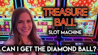 Treasure Ball Slot Machine! Lots of Treasure Balls!