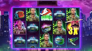 GHOSTBUSTERS: BACK IN BUSINESS Video Slot Casino Game witha GOZER THE GOXERIAN FREE SPIN BONUS