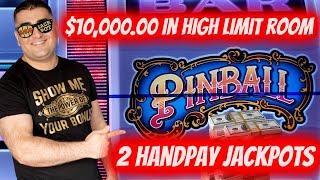 $10,000 On High Limit Machines & 2 HANDPAY JACKPOTS ! High Limit Slot Play & JACKPOTS   SE-7   EP-31