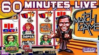 60 MINUTES LIVE  MATCH GAME  LIVE FROM THE SLOT MUSEUM
