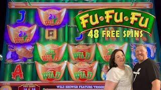Got the BIG BUCKS BONUS on THE PRICE IS RIGHT! | 48 free spins on FU FU FU!