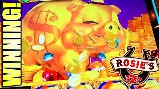 BIG PIGGY WIN!  $500 ATTEMPT AT NEW LOCAL! ROSIE'S GAMING EMPORIUM (VA) HHR MACHINES