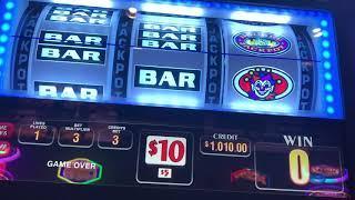 Sizzling Wilds Slot Machine - High Limit - $30/Spin