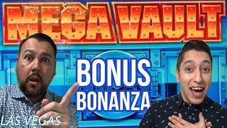 MEGA VAULT • Did our bonus break the machine?