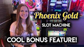 Phoenix Gold Slot Machine! BONUSES!