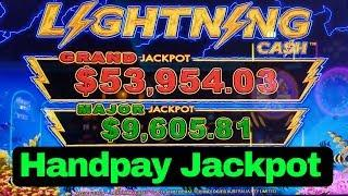 High Limit Lightning Link Slot Machine HANDPAY JACKPOT   High Limit Slot Jackpot   Massive Win