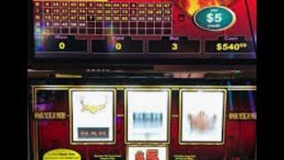 VGT High Limit Live Play!  $5 Denom Diamond Fever & $.10 Denom Polar High Roller!