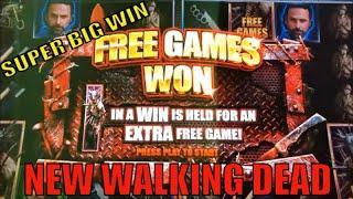 FINALLY NEW WALKING DEAD ! !THE WALKING DEAD 3 Slot (Aristocrat) $3.00 Bet SUPER BIG WIN栗スロ