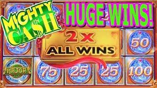 HIGH LIMIT  MIGHTY CASH  SPIN IT GRAND  LIGHTNING LINK  BUFFALO GOLD  HUGE WINS