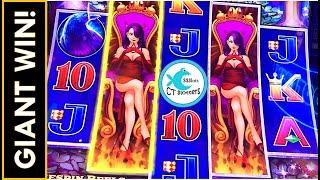 BIG WIN BONUS on MAX BET! WICKED WOMAN LOVES US! ️WICKED WINNINGS DIAMOND SLOT MACHINE!