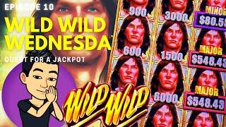 WILD WILD WEDNESDAY! QUEST FOR A JACKPOT [EP 10]  TARZAN GRAND Slot Machine (Aristocrat)