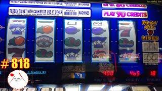 Triple Double Stars Slot 9 Lines Bet $18 赤富士スロット