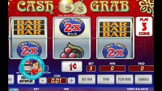 [CASH GRAB SLOTS GAMEPLAY]  'WGS (FORMERLY VEGAS TECHNOLOGY) GAMING'    PLAYSLOTS4REALMONEY
