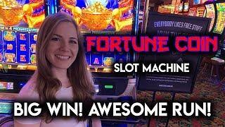 NEW Fortune Coin Slot Machine! BIG WIN!!