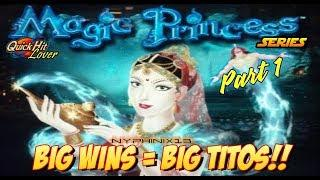 MAGIC PRINCESS Slot Bonus BIG WINS! Part 1