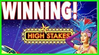 2 Hold & Spin Bonus Feature Wins on Lightning Link High Stakes !