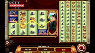 Epic Monopoly II slot by WMS - Gameplay