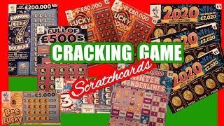 Scratchcards..Full £500s.Lucky Bonus.2020.Winter Wonderlines.Diamond 7s.Bee Lucky