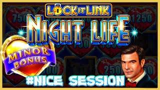 Lock It Link Night Life & Dragon Link Golden Century HIGH LIMIT Bonus Rounds Slot Machine Casino
