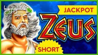 JACKPOT HANDPAY! Zeus Slot - $45 MAX BETS! #Shorts