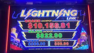 LIGHTNING LINK ~ LOCK IT LINK ~ ZEUS: SON OF KRONOS ~ Live Slot Play @ San Manuel