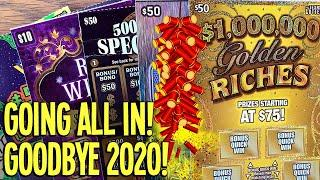 Going ALL IN with 3 $50 TICKETS! and the WINNER IS.... $200 TEXAS Lottery Scratch Offs