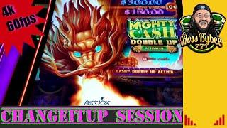 Mighty Cash Double Up Dragon ChangeItUp Session