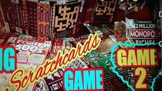 £200..SCRATCHCARD GAME...EMERALD DOUBLER..WIN ALL..MONOPOLY