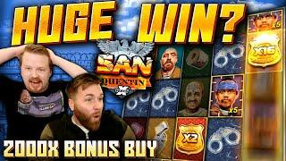 SUPER BIG WIN on San Quentin xWays! (2000x Bonus Buy)