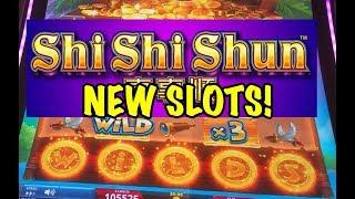 NEW SLOTS! Big Wins on Lock it Link Shi Shi Shun and Coin o Mania