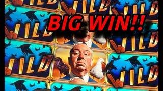 NEW SLOT: Alfred Hitchcock Presents Big Win!
