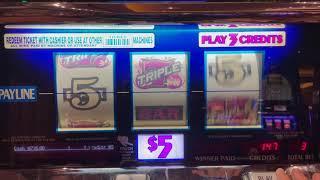 Triple Hot Ice - Old School High Limit Slot Play - Seminole Hard Rock