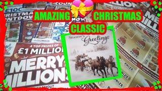 """OUR""AMAZING.2018 ""CHRISTMAS SPECIAL""....£50 worth of Scratchcards..ALL CHRISTMAS CARDS.WHoooooOOOOO"