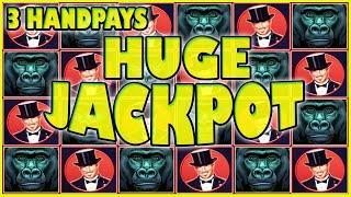 RETRIGGERS PAYS HUGE JACKPOT! 3 HANDPAYS ON HIGH LIMIT SLOTS