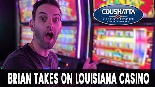 • LIVE from Coushatta Casino • Louisiana Slot Machines