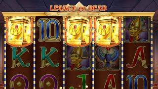 Legacy of Dead - 10€ Spins - Ballern die Freispiele?