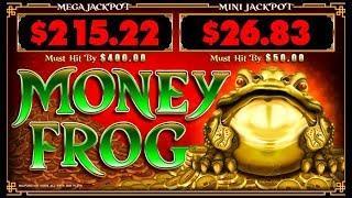 MONEY FROG - MAX BET LIVE PLAY W/ BONUS - Slot Machine Bonus