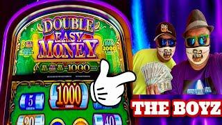 EASY MONEY SLOTWHICH ONE HIT? DOUBLE EASY MONEY, MAX BET $5THE BOYZ AT FOUR WINDS CASINO!