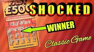 """I WAS ABSOLUTELY """"SHOCKED""""..AT THIS RESULT...Scratchcards..Late Night Classic Game...Yaaaaaahhhh"""