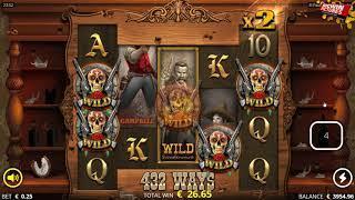 El Paso  xNudge Slot - Drunken Free Spins BIG WIN!