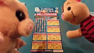 Millionaire Bingo.Scratchcard.....and Bonus Scratchcards.. on our One  Card Wonder Game...mmmmmmMMM